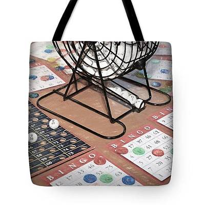 Photograph - Bingo - Tote by Donna Kennedy