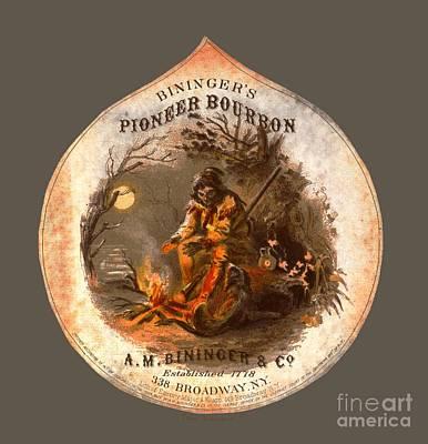 Photograph - Biningers Pioneer Bourbon C1859 by John Stephens
