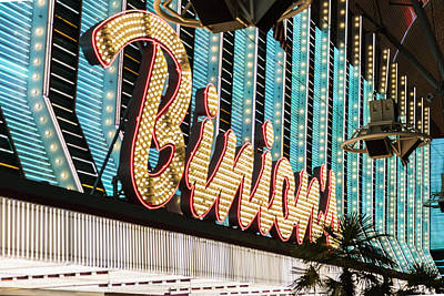 Photograph - Binions Last Vegas  by John McGraw