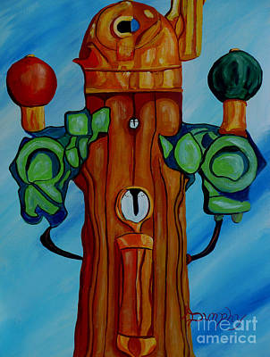 Painting - Binnacle by Anthony Dunphy
