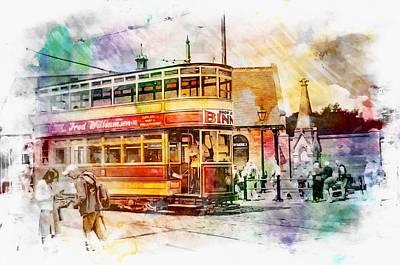 Binns Tram 2 Art Print by John Lynch