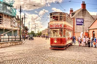 Binns Tram 5 Art Print by John Lynch