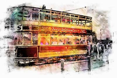 Binns Tram 8 Art Print by John Lynch