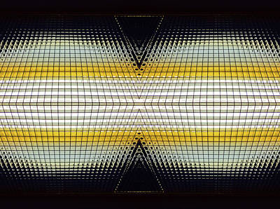 Photograph - Binocular Grid by Mary Bedy