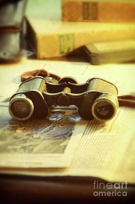 Photograph - Binoculars by Jill Battaglia