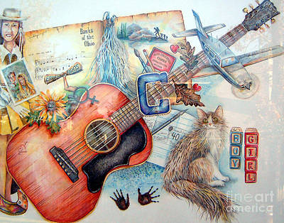Mixed Media - Bio Bits by Linda Shackelford