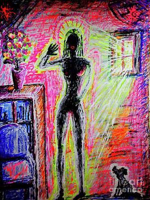 Painting - Bio Mat Collector by Viktor Lazarev