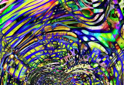 Digital Art - Biodiverse Interconnect by Richard Thomas