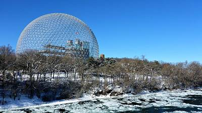 Photograph - Biosphere - Montreal by Cristina Stefan