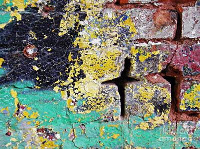 Photograph - Biography Of A Wall 1 by Sarah Loft