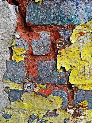 Photograph - Biography Of A Wall 11 by Sarah Loft