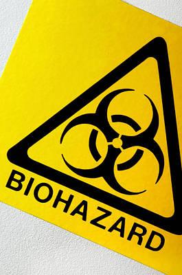 Biohazard Symbol Art Print by Tim Vernon, Nhs Trust