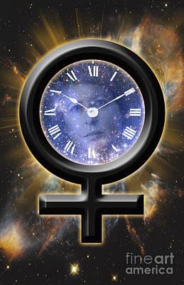 Fertility Symbols Wall Art - Photograph - Biological Clock by George Mattei
