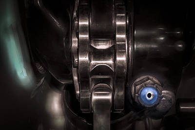 Photograph - Biomechanical Droid by Mark Holcomb