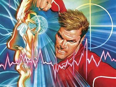 Design Digital Art - Bionic Man by Maye Loeser
