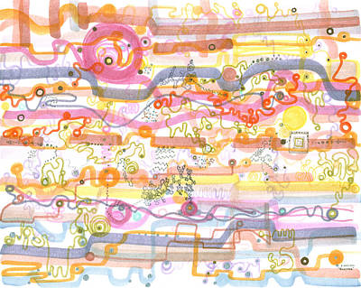 Drawing - Biosensor by Regina Valluzzi