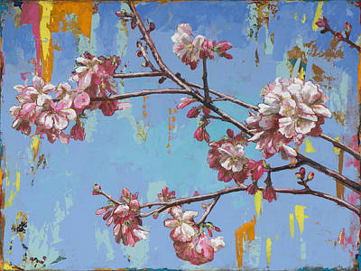 Cherry Blossoms Painting - Biosphere #1 by David Palmer