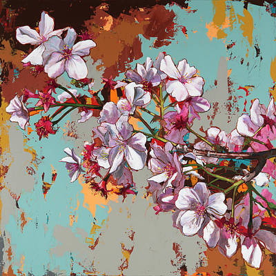 Cherry Blossoms Painting - Biosphere #11 by David Palmer