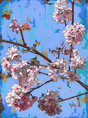 Cherry Blossoms Painting - Biosphere #5 by David Palmer