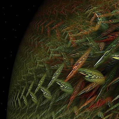 Revolt Digital Art - Biosphere Threatened by Doug Morgan