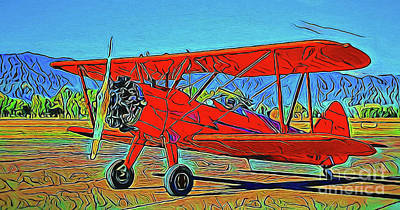 Photograph - Biplane 19718 by Ray Shrewsberry