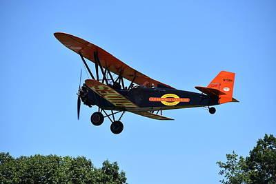 Photograph - Biplane At Rhinebeck 1 by Nina Kindred