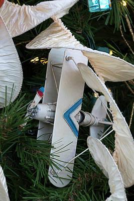 Photograph - Biplane Holiday by Liza Eckardt