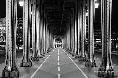 City Photograph - Bir-hakeim Bridge, Paris by Tatyana Aksenova