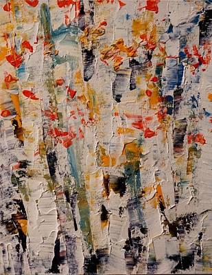 Painting - Birch Almost by Desmond Raymond