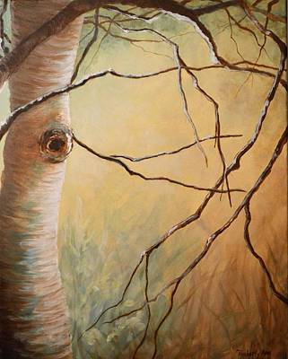 Birch Branching Out 2 Original by Kimberly Benedict