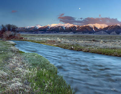 Photograph - Birch Creek by Leland D Howard