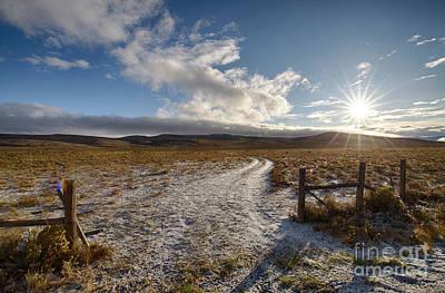 Photograph - Birch Creek Valley Sun by Idaho Scenic Images Linda Lantzy