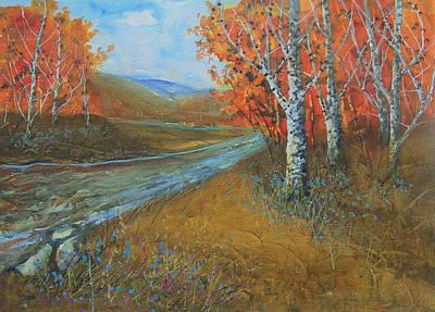 Birch Fall Art Print