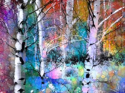 Photograph - Birch Magic by Tara Turner