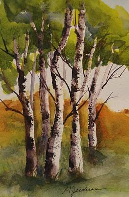 Painting - Birch by Marilyn Jacobson