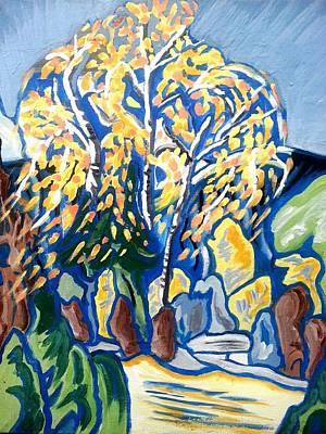 Painting - Birch Tree by Nikki Dalton