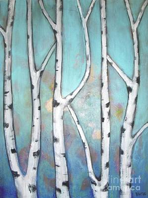 Painting - Birch Trees by Vesna Antic