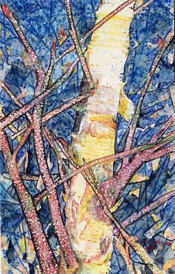 Painting - Birch Watercolor by Jill Annette Johnson