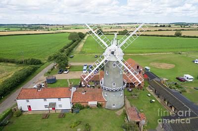 Photograph - Bircham Windmill by Steev Stamford