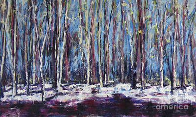 Painting - Birches by Debora Cardaci