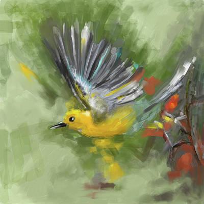 Painting - Bird 1 654 1 by Mawra Tahreem