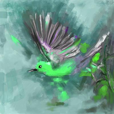 Painting - Bird 1 654 2 by Mawra Tahreem