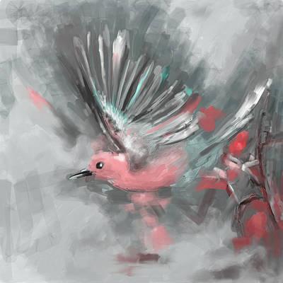 Painting - Bird 1 654 5 by Mawra Tahreem