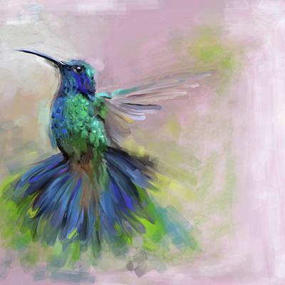 Painting - Bird 3 656 1 by Mawra Tahreem