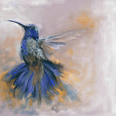 Painting - Bird 3 656 2 by Mawra Tahreem
