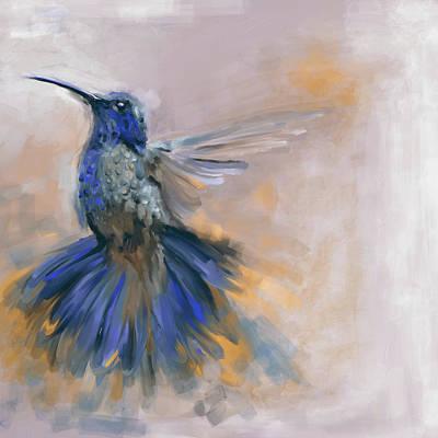 Painting - Bird 3 656 2 by Mawra Tahreem