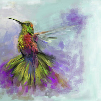 Painting - Bird 3 656 3 by Mawra Tahreem