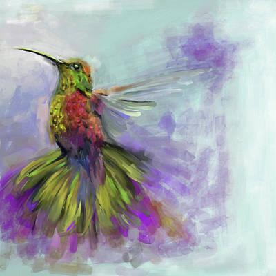 Painting - Bird 3 656 3 by Mawra Tahreem