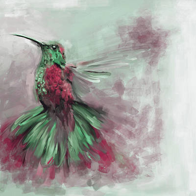 Painting - Bird 3 656 4 by Mawra Tahreem