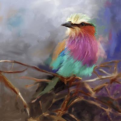 Painting - Bird 4 657 1 by Mawra Tahreem